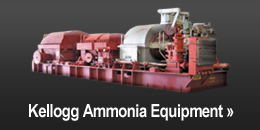 Kellogg Ammonia Equipment
